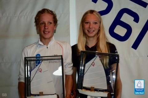 3 Frisia leden in Kern- en jeugdploeg Optimist 2015-2016