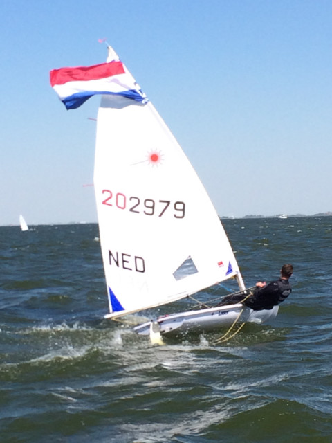Eric-Jan Westerhof wint Dutch Youth Regatta