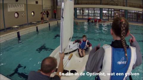 Geslaagde Zwembadtraining jongste Jeugd