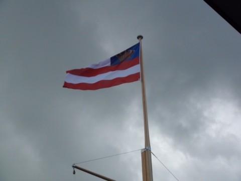 Vlaggenmast voor Zeilcentrum Grou