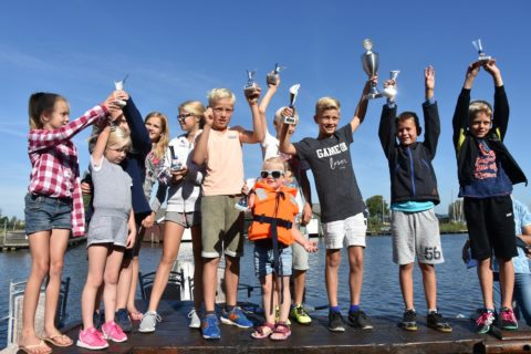 Sibrecht, Martsen, Bastiaan en Olivier winnaars skipkesilen 2016.