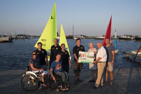 TVM foundation doneert € 5000 aan Koninklijke Watersportvereniging Frisia