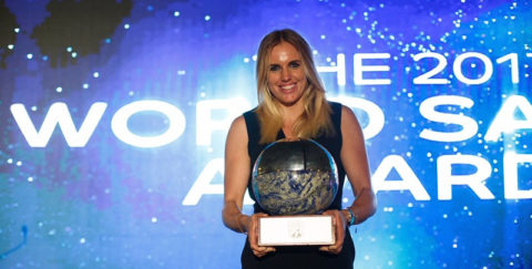 Marit Bouwmeester World Sailor of the Year