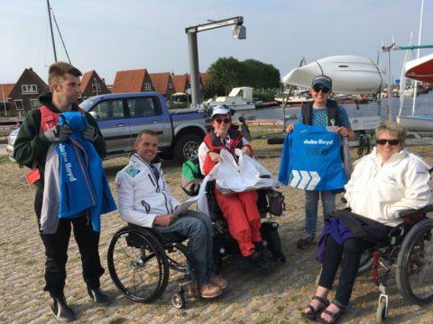 Marit Bouwmeester verrast AIM zeilers en jeugd van KWV Frisia