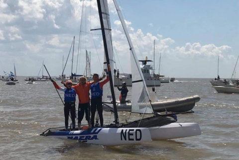 Laila van der Meer pakt Brons op Jeugd Olympics