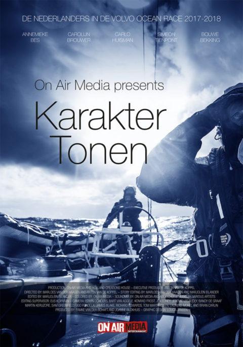 """28 maart 3e voorstelling Volvo Ocean Race film """"Karakter Tonen"""""""