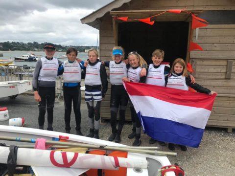 Yfke van der Meer naar EK Optimist