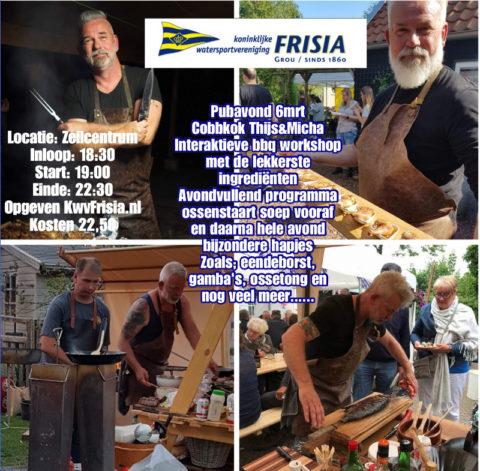6 Maart: Foodexperience met Cobbkok Thijs & Micha